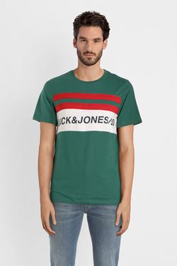 Tee-shirt JACK AND JONES 12147429 Vert