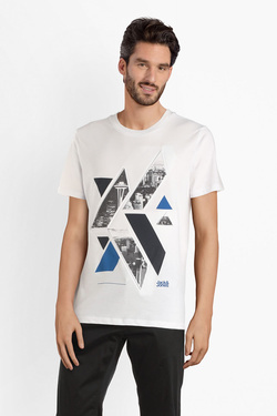 Tee-shirt JACK AND JONES 12145300 Blanc