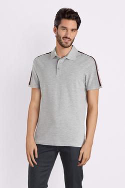 Polo JACK AND JONES 12145080 Gris