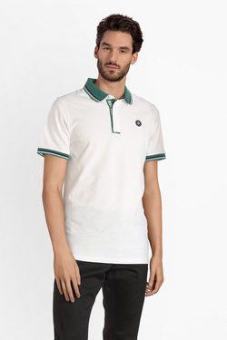 Polo JACK AND JONES 12145116 Blanc