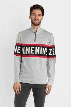 Pull JACK AND JONES 12145419 Gris clair