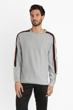 Pull JACK AND JONES 12145384 Gris clair