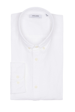 Chemise manches longues JACK AND JONES 12152782 Blanc