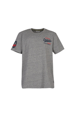 Tee-shirt JACK AND JONES 12148991 Gris