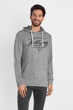 Sweat-shirt JACK AND JONES 12141011 Gris clair
