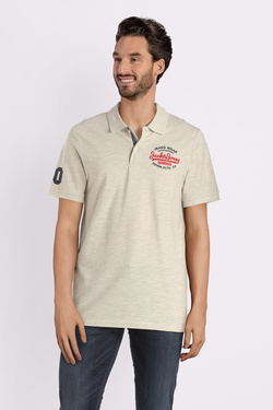 Polo JACK AND JONES 12147697 Blanc