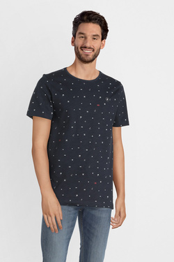 Tee-shirt JACK AND JONES 12147512 Bleu marine
