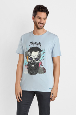 Tee-shirt JACK AND JONES 12150283 Bleu
