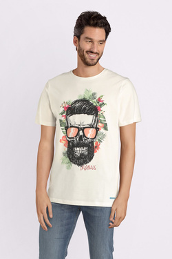 Tee-shirt JACK AND JONES 12150283 Blanc