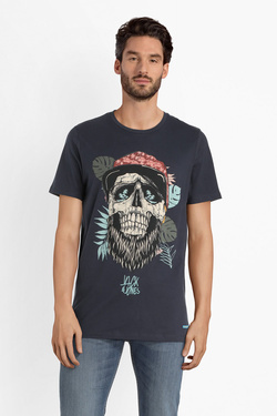 Tee-shirt JACK AND JONES 12150283 Bleu marine