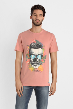 Tee-shirt JACK AND JONES 12150283 Rose