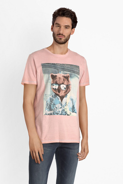 Tee-shirt JACK AND JONES 12150284 Rose