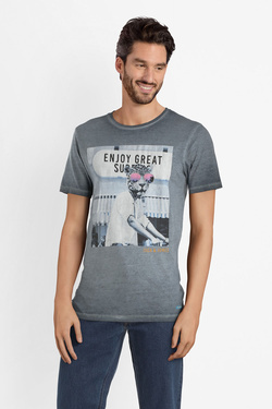 Tee-shirt JACK AND JONES 12150284 Bleu marine