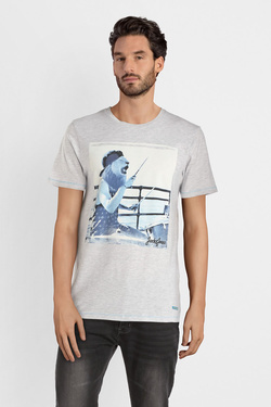 Tee-shirt JACK AND JONES 12150284 Blanc