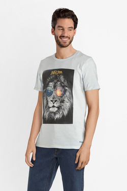 Tee-shirt JACK AND JONES 12150284 Bleu