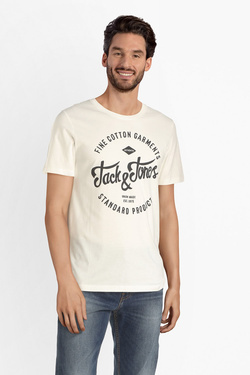 Tee-shirt JACK AND JONES 12147844 Blanc