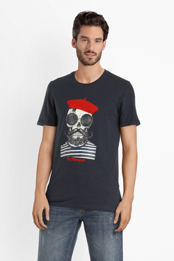 Tee-shirt JACK AND JONES 12156537 Bleu marine