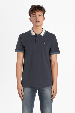 Polo JACK AND JONES 12155606 Bleu marine