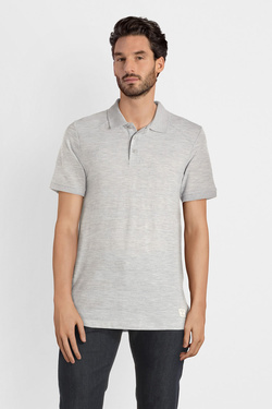 Polo JACK AND JONES 12157889 Gris clair