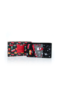 Chaussettes JACK AND JONES CHRISTMAS GIFT PACK Rouge