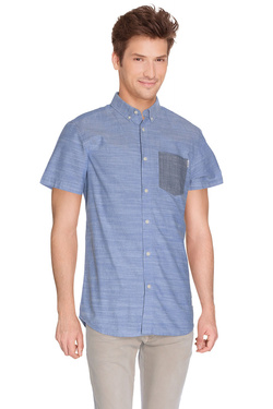 JACK AND JONES - Chemise manches courtesALTONBleu ciel
