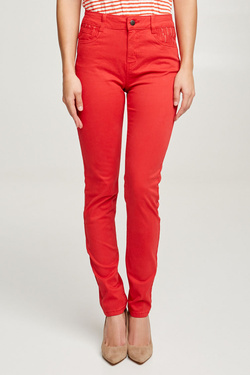 Pantalon JULIE GUERLANDE 50JG2PS910 Rouge