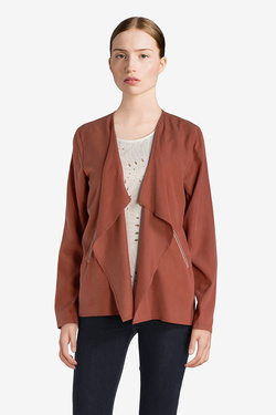 Veste JULIE GUERLANDE 51JG2VE310 Marron