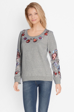 Sweat-shirt JULIE GUERLANDE 50JG2TS200 Gris