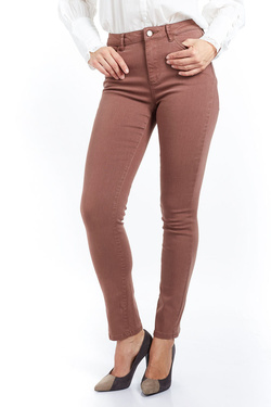 Pantalon JULIE GUERLANDE 52JG2PS910 Marron