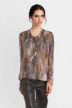 Blouse JULIE GUERLANDE 52JG2CH600 Marron