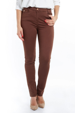 Pantalon JULIE GUERLANDE 52JG2PS930 Marron