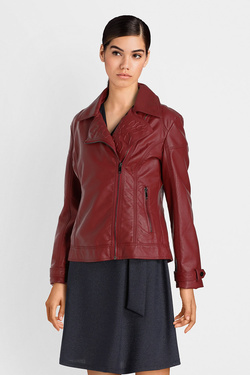 Blouson JULIE GUERLANDE 52JG2VE410 Rouge