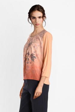 Tee-shirt manches longues JULIE GUERLANDE 52JG2TS300 Orange