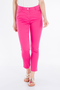 Pantalon JULIE GUERLANDE 53JG2PC010 Rose fuchsia