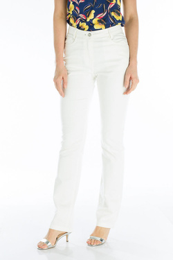 Pantalon JULIE GUERLANDE 53JG2PS000 Ecru