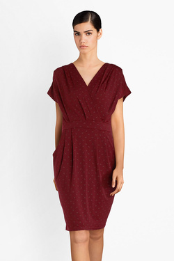 Robe JULIE GUERLANDE 52JG2RO420 Rouge bordeaux