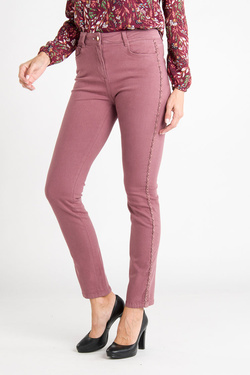 Pantalon JULIE GUERLANDE 54JG2PS610 Rose pale