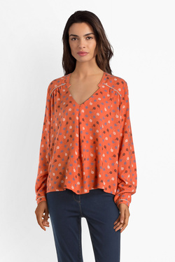 Blouse JULIE GUERLANDE 54JG2CH510 Orange