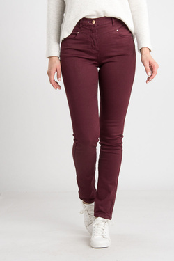 Pantalon JULIE GUERLANDE 54JG2PS000 Rouge bordeaux
