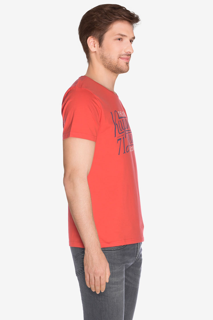 kaporal tee shirt terov rouge homme des marques et vous. Black Bedroom Furniture Sets. Home Design Ideas