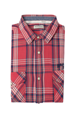 Chemise manches longues KAPORAL FAB Rouge