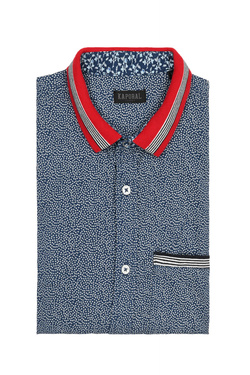 Chemise manches courtes KAPORAL ROLLY Bleu marine