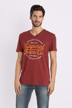 Tee-shirt KAPORAL OBUCE Rouge bordeaux