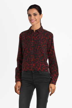 Chemise manches longues KAPORAL PITT Rouge