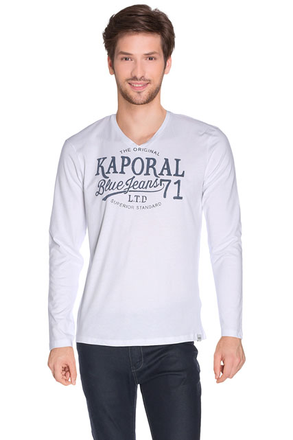 TEE-SHIRT ENCOLURE V KAPORAL