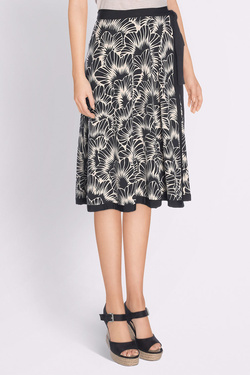 Jupe KING LOUIE CIRCLE WRAP SKIRT BLIZZY Noir
