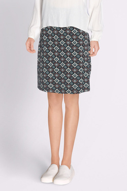 Jupe KING LOUIE BORDER SKIRT ORNAMENT Noir