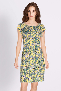 Robe KING LOUIE SHIRLEY DRESS SWING Jaune