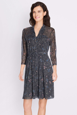 Robe KING LOUIE EMMY DRESS AURORA Noir