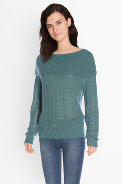 Pull KING LOUIE ROYAL COLLAR TOP BAYONNE Vert